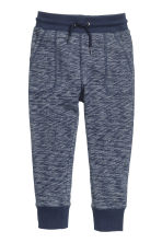 Sweatpants - Dark blue marl - Kids | H&M 2
